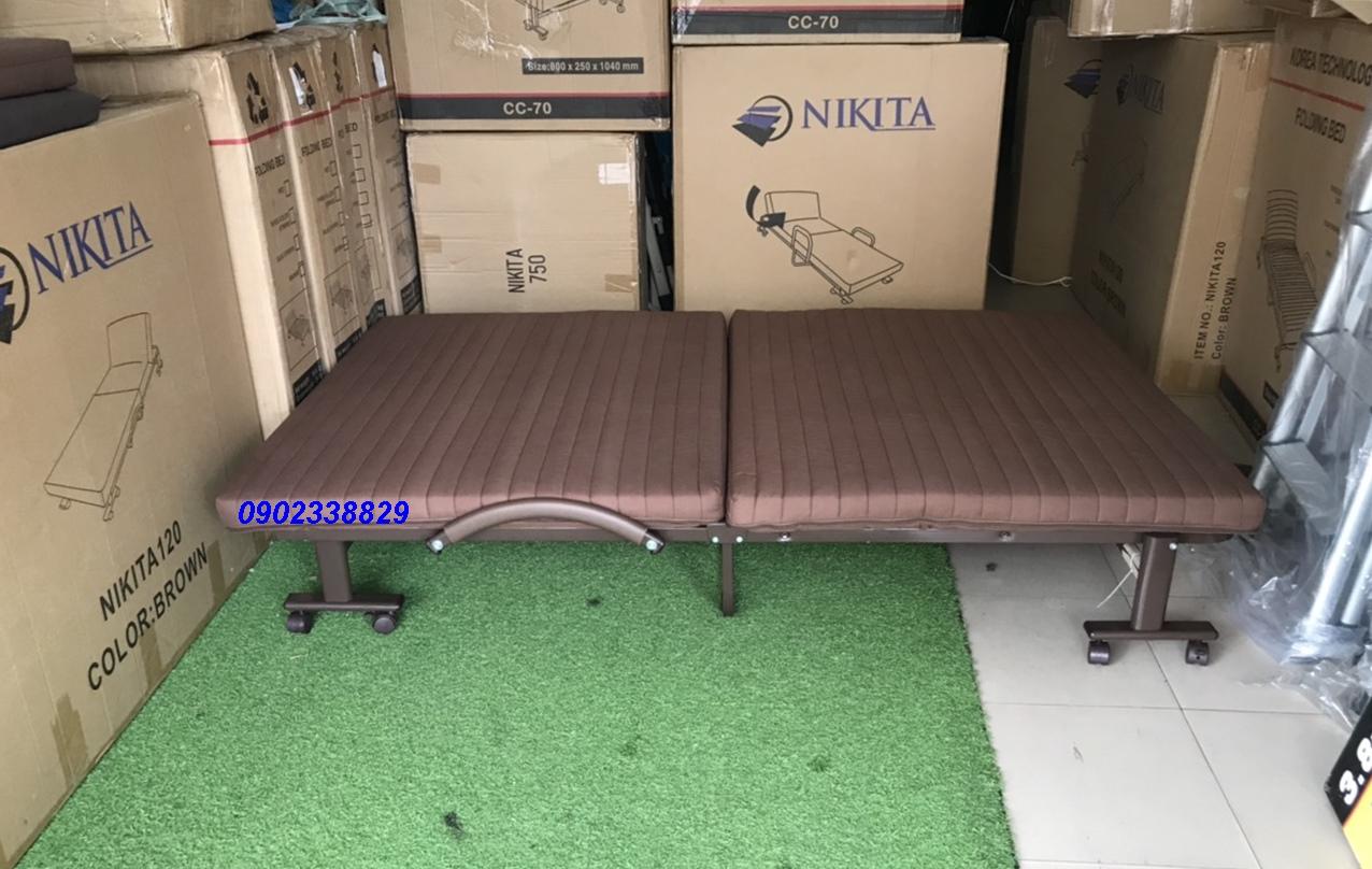 giường xếp nệm HQ120 tphcm