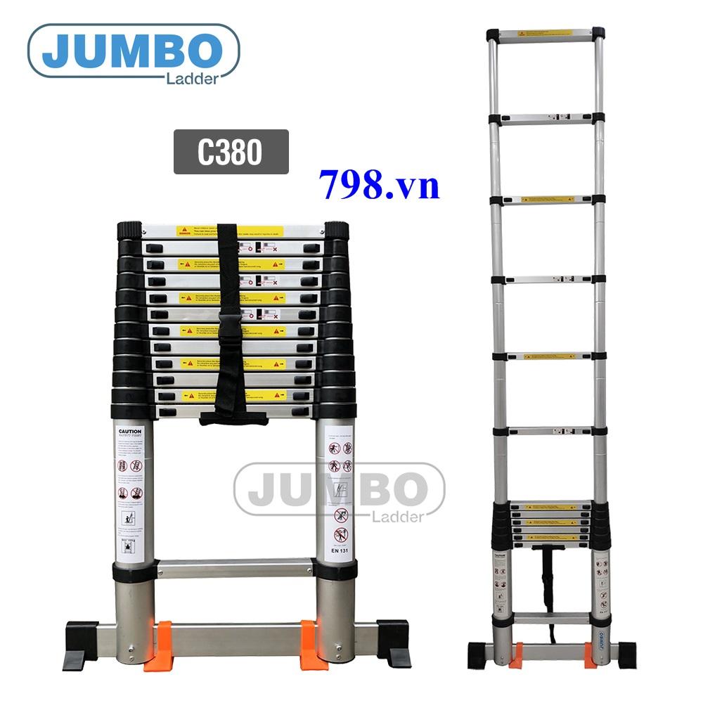 Thang nhôm rút JUMBO C380