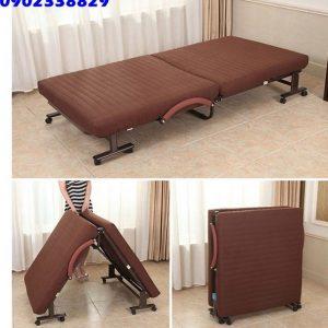 giường nệm gấp xếp kiểu hàn quốc giá rẻ