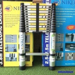 Thang nhôm rút đơn nhật bản NKT KN-R58