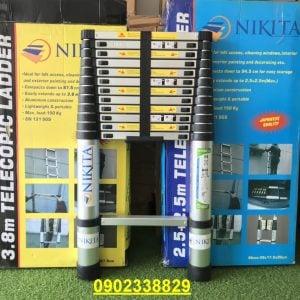 Thang nhôm rút đơn NKT KN-R38