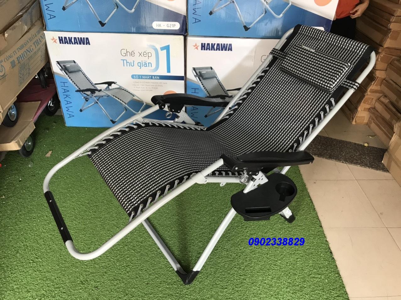 ghế xếp thư giãn cao cấp G21P