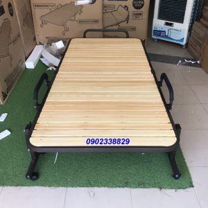 giường gấp nan gỗ Nhật Bản OTB-WH