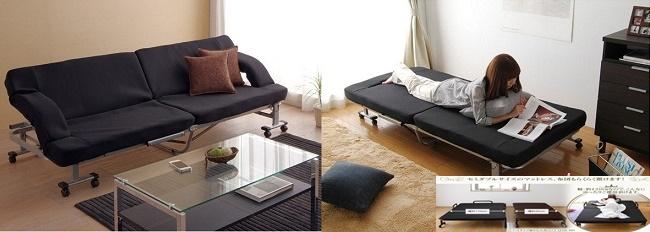 giường gấp sofa nhật bản nhập khẩu tại tpchm
