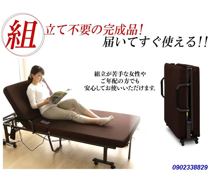 Giường Gấp Tự Động Nhật Bản OTB-KDH