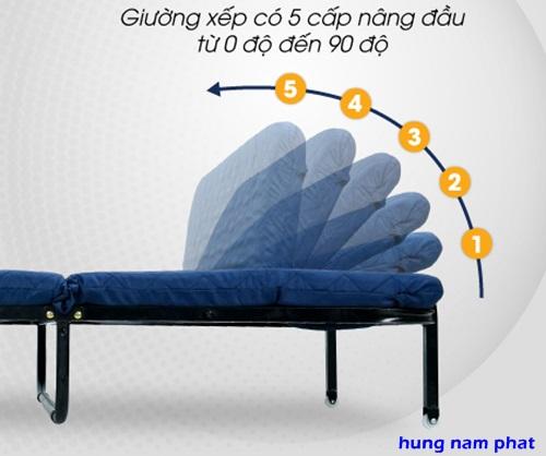 đầu giường gấp gọn